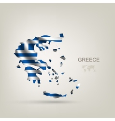 Flag of Greece as a country vector image