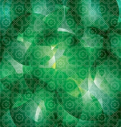 Arabic background vector image