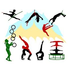 Circus 6 vector image