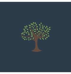 Decorative simple tree vector