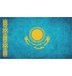 Flag of kazakhstan vector