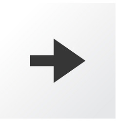 Forward icon symbol premium quality isolated vector