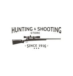 Hunting vector image