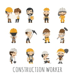 Industrial contractors workers people eps10 vect vector