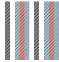 Man color striped fabric texture vector