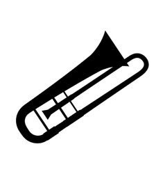 Trumpet music instrument vector