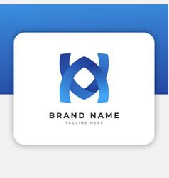 va av logo design inspiration vector image