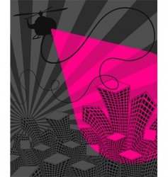 urban disco vector image