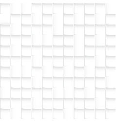 Seamless white squares pattern abstract background vector image vector image