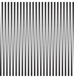 Vertical Points Halftone Pattern vector image