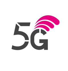 5g network wireless systems and internet vector image