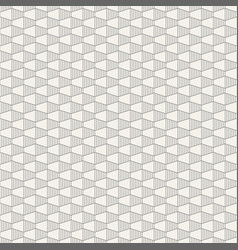abstract seamless pattern hexagonal grid design vector image