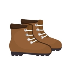 Industrial boots equipment vector