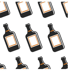 portwine alcohol drink portugal symbol seamless vector image