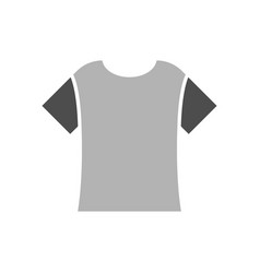 t shirt icon design template vector image