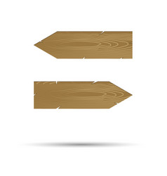 straight arrow points in different directions vector image vector image