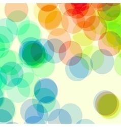Bokeh banner vector image