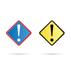 admiration road sign vector image