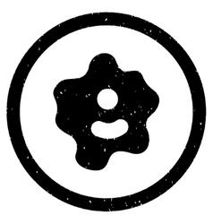 Ameba Rounded Grainy Icon vector
