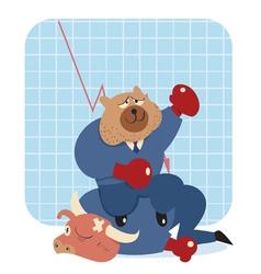bearwin thumb vector image