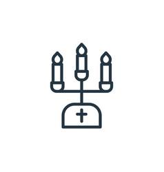 Candlestick icon candlestick editable stroke vector