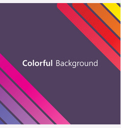 colorful background abstract design creative vector image