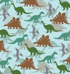 Dinoasaur pattern vector