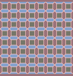 Geometric pattern with squares vector