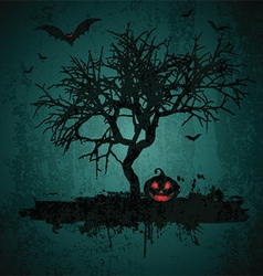 grunge halloween background 2708 vector image