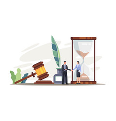 legal law justice service vector image