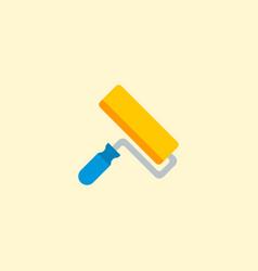 paintbrush icon flat element vector image