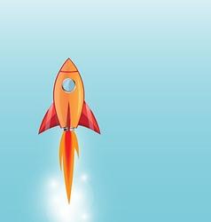 rocket1 vector image