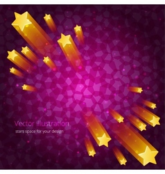 Stars space abstraction for your design vector image