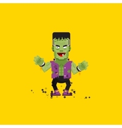 Frankensteins monster character for vector image