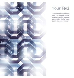 Geometric abstract vector