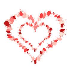 heart grunge4 00000 vector image