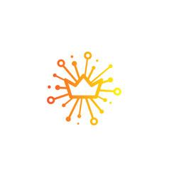 king share logo icon design vector image