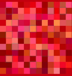 red abstract 3d cube background vector image