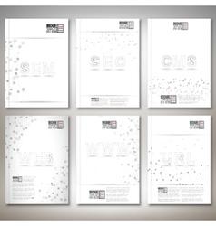Three dimensional mesh stylish words- seo web www vector image