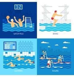 Water Sport Concept vector image