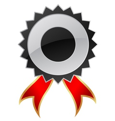 blank guarantee label vector image vector image