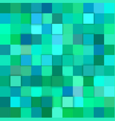teal abstract 3d cube background vector image vector image