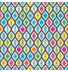 Abstract seamless background Fabric pattern vector image