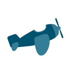 airplane baby toy vector image