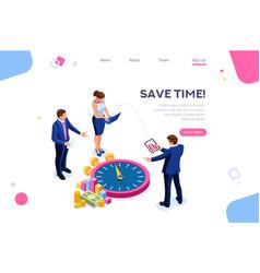 Control economy time concept vector