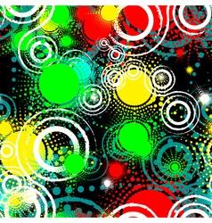 Seamless grunge background vector image