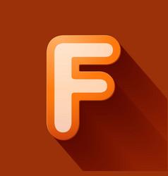 Volume icons alphabet f vector