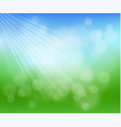blurred nature background vector image