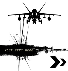 Military grunge vector
