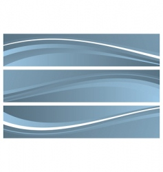 abstract banners headers vector image vector image